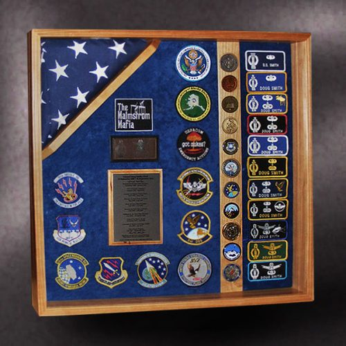 Air Force Retirement Shadow Box