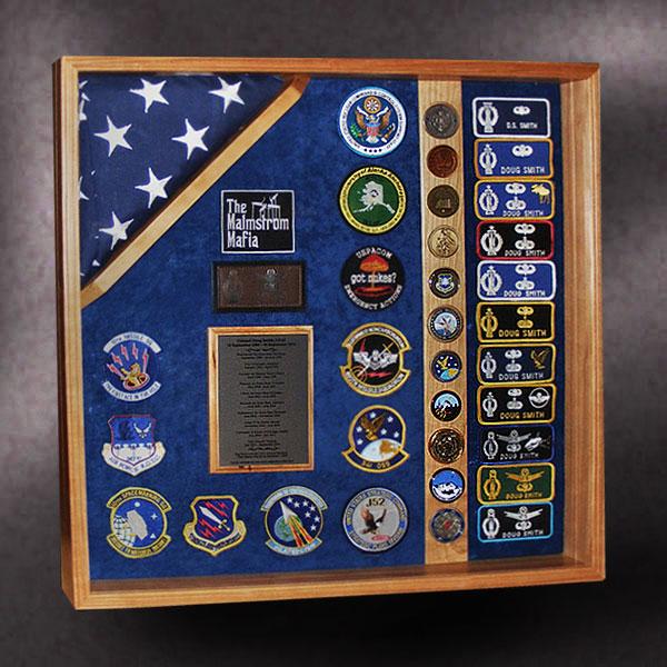 Air Force Retirement Shadow Box