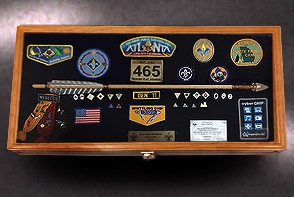 12x24 Webelos Shadow Box