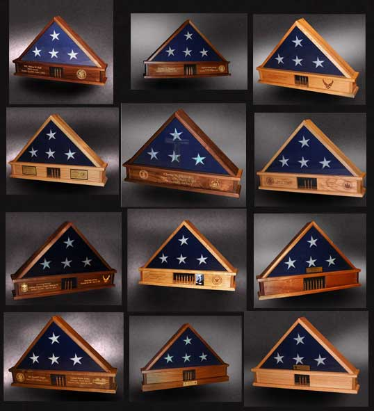 Memorial Day Flag Boxes