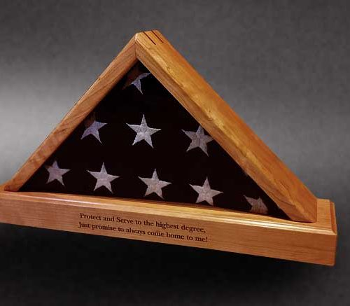 law enforcement flag case