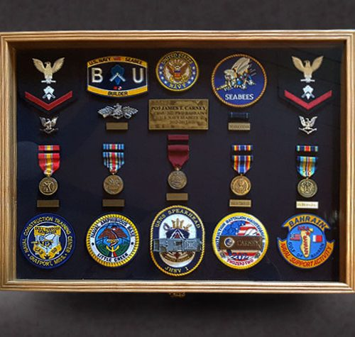 USN Retirement Shadowbox