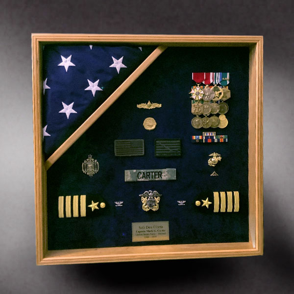 Shadow Box for Coast Guard Retirement http://shadowboxguru.com/military-shadow-boxes-2/