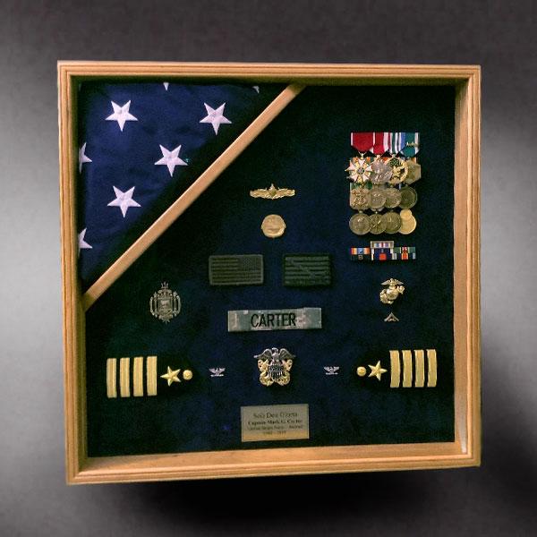 Shadow Box for Coast Guard Retirement http://shadowboxguru.com/military-shadow-boxes-2/