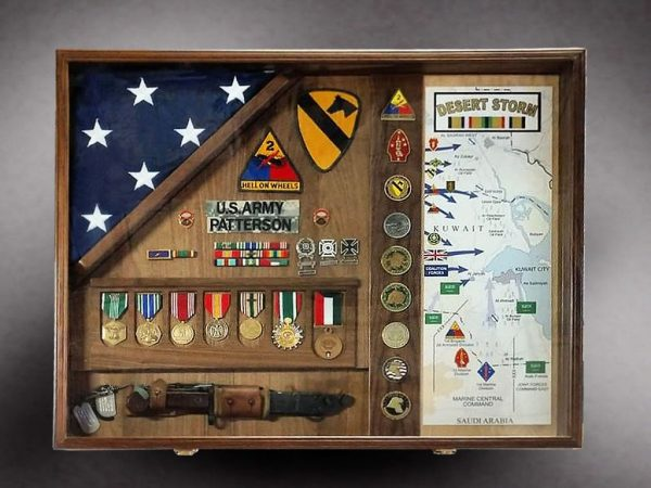 Gulf War Veterans Shadow Box