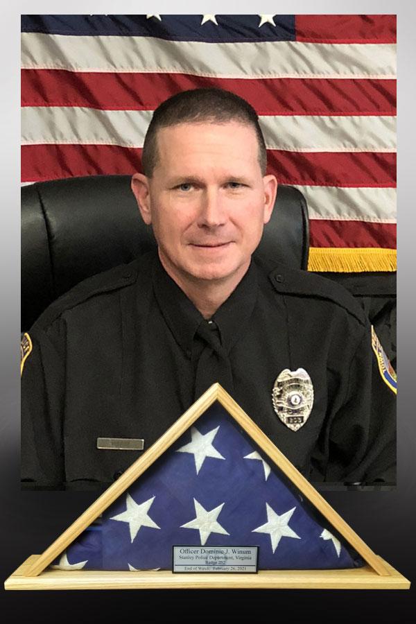 Officer Dominic Winam