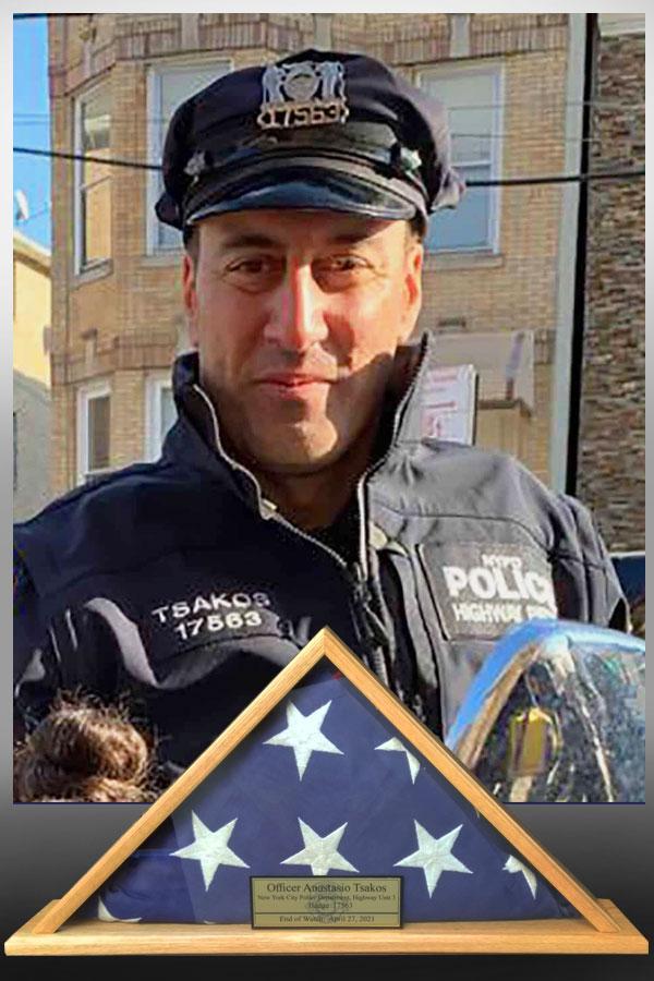 NYPD Officer Anastasios Tsakos