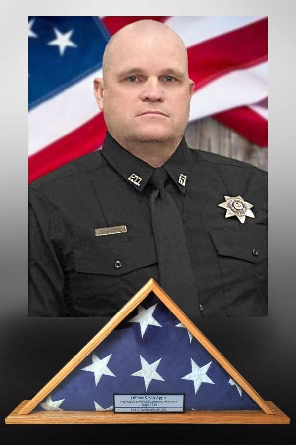 Officer Kevin Apple, Pea Ridge Arkansas