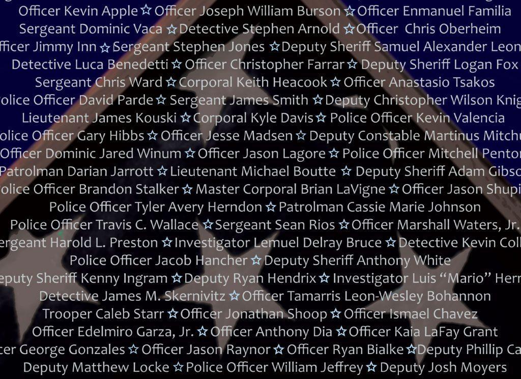 Fallen Police Officers